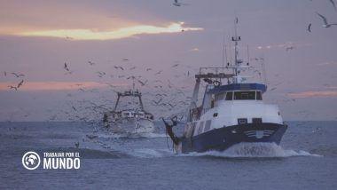 trabajar en un barco pesquero en Alaska