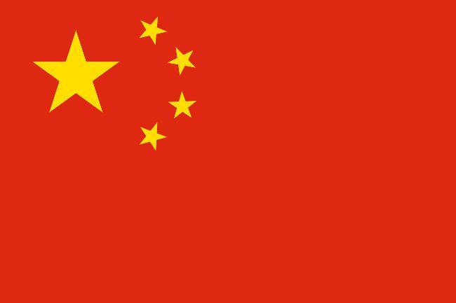 bandera de China aprender chino