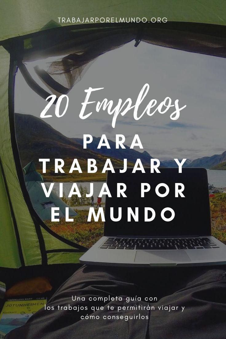 20 trabajos para viajar por el mundo
