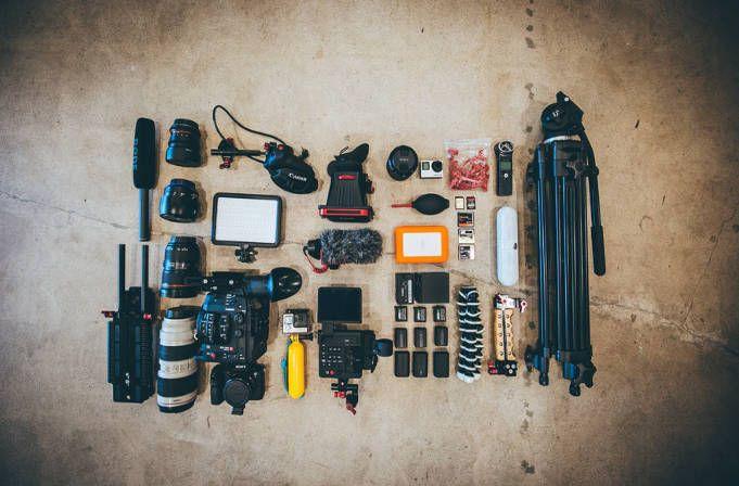que se necesita para trabajar como fotografo