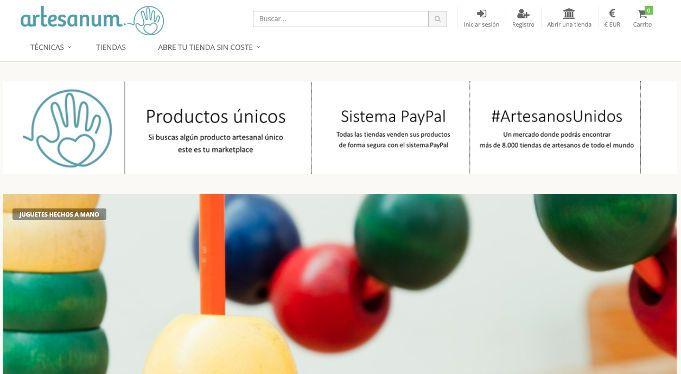 artesanum tienda vende artesanias por internet