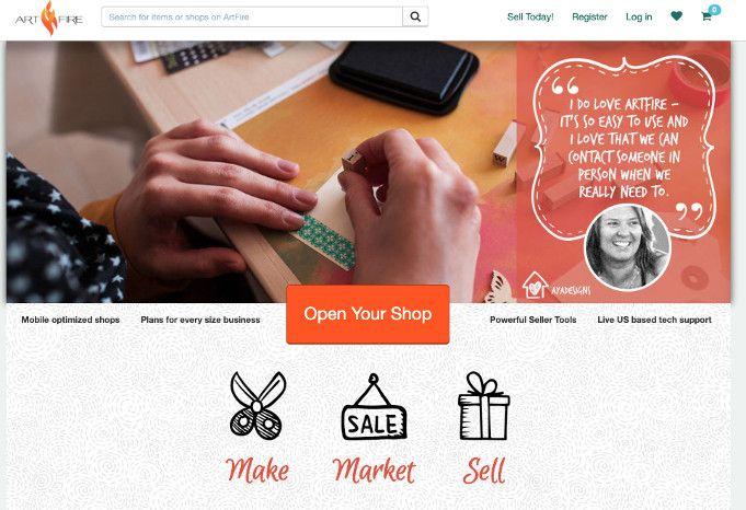 artfire vender productos online