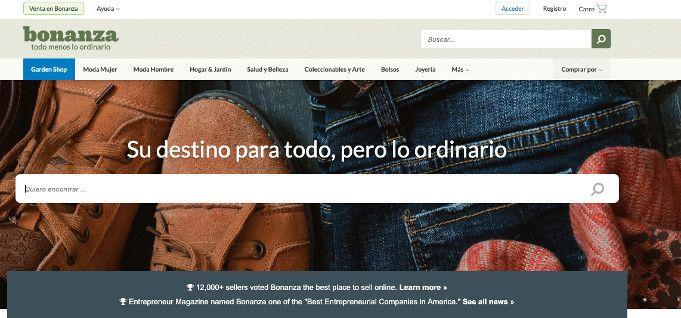 bonanza venta de artesanias online