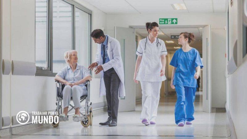 enfermero en el Reino Unido