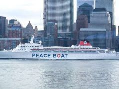 Viaja a bordo del Barco de la Paz Peace Boat