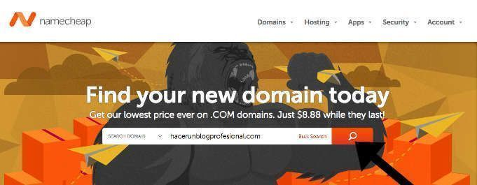 comprar dominio namecheap