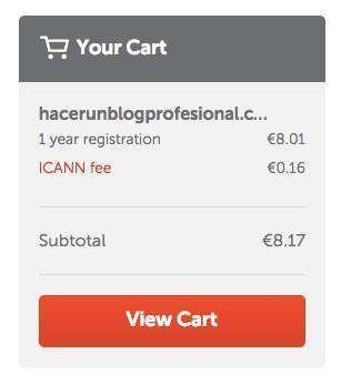 comprar el dominio namecheap paso 4
