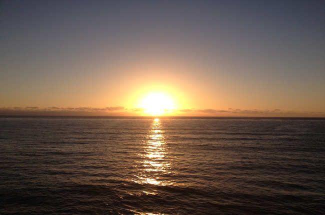 Puesta de sol desde Sunset Cliffs, San Diego