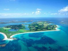 empleo en Tresco, la isla al sur de Inglaterra