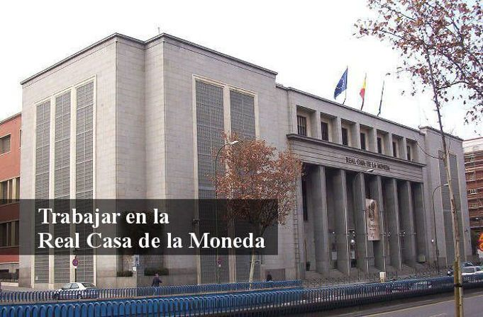 Real casa de la moneda de espa a oportunidades de empleo - Casa de la moneda empleo ...