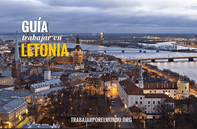 trabajar en Letonia