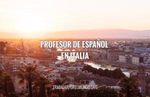 profesor de español en Italia