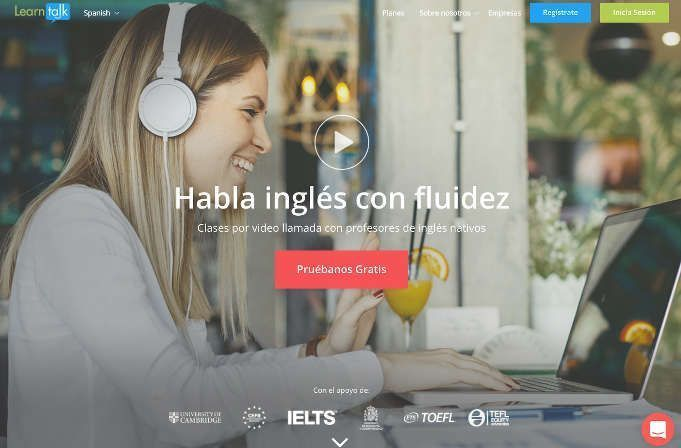 Learntalk, la herramienta para aprender inglés con profesores online
