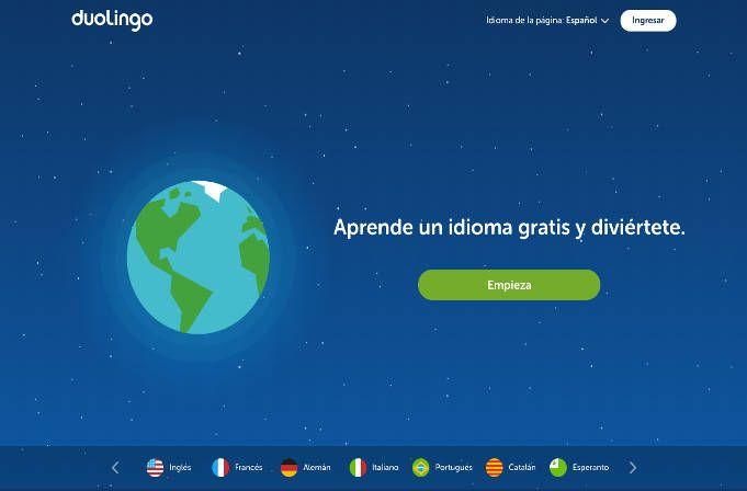 Duolingo apprend les langues