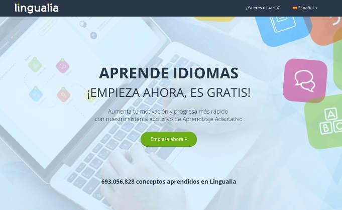 L'application Lingualia apprend les langues