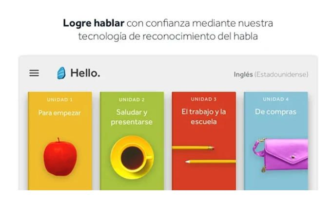 L'application Rosetta Stone apprend les langues