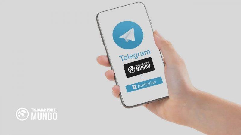 Canal de Telegram de TrabajarporelMundo