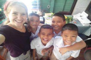 viajar a Tailandia como voluntaria