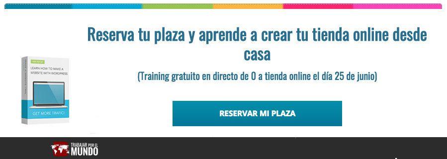 Training gratuito crear una tienda online