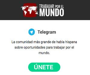 Unete a Telegram de TrabajarporelMundo