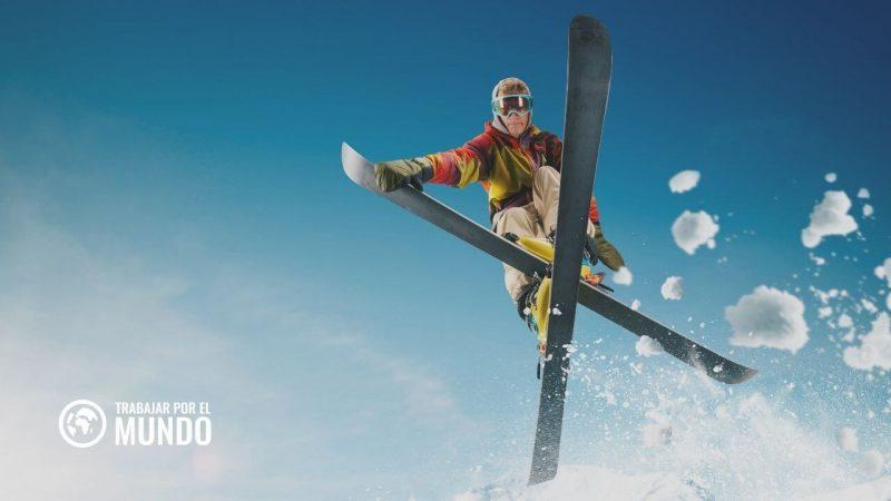 trabajo en Candanchú estación de esquí