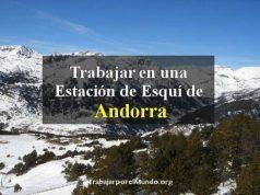 Trabajar en una Estación de Esquí de Andorra
