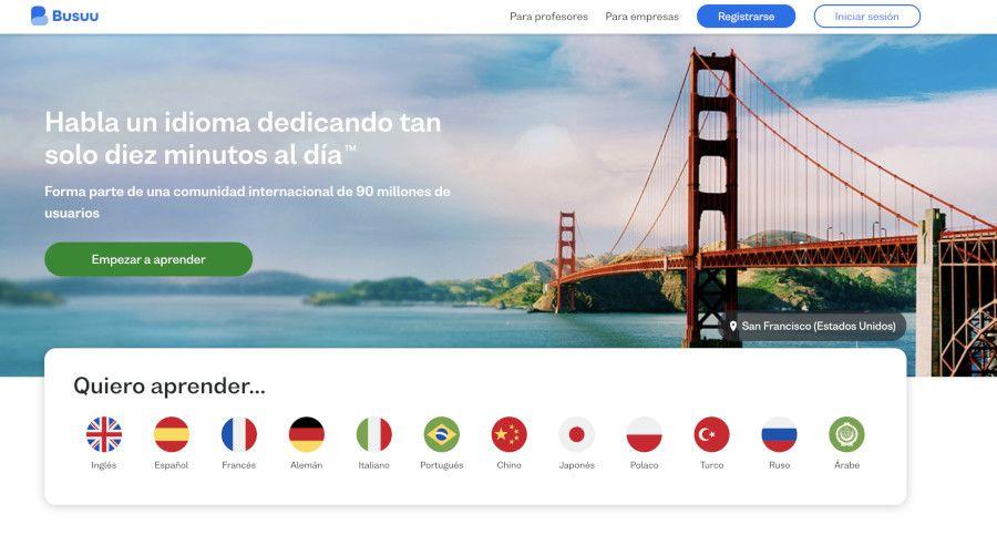 busuu app para aprender ingles gratis