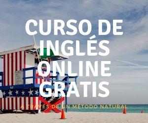 curso de inglés online gratis