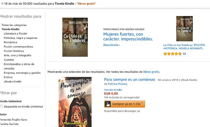 libros gratis de Amazon