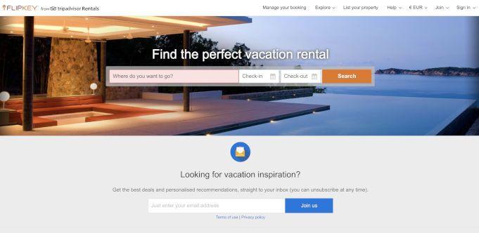 Flipkey alternativa a Airbnb