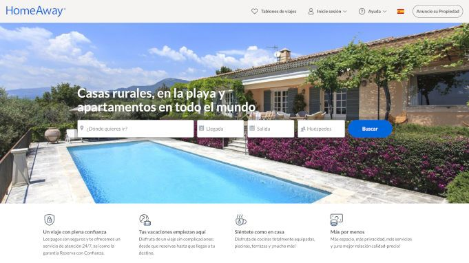 homeaway alternativas a airbnb