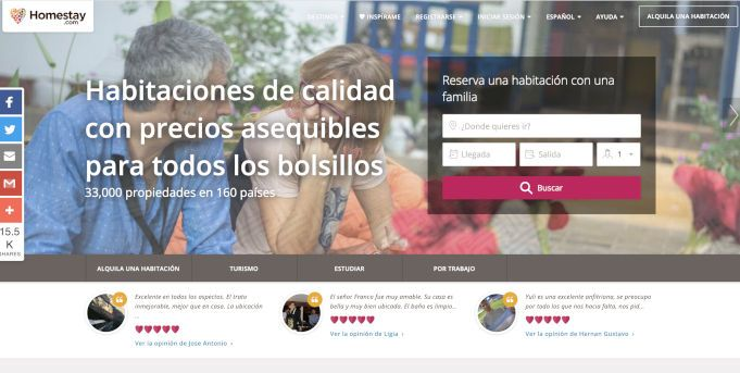 homestay una alternativa a Airbnb