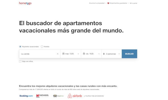 hometogo alternativa a airbnb