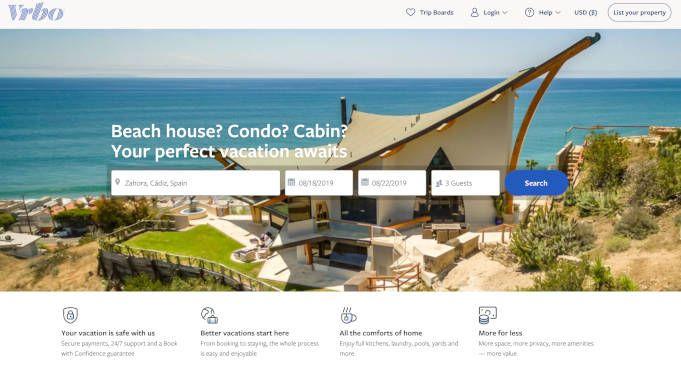 vrbo alternativa a airbnb