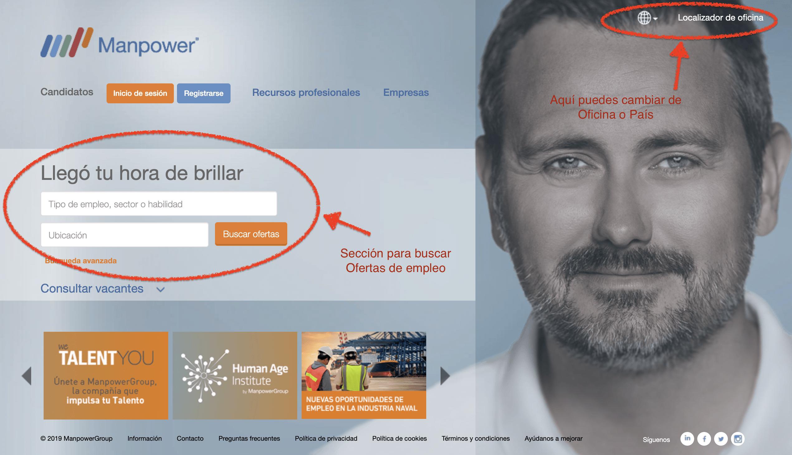 Web de Manpower