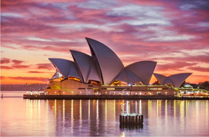 gran opera de Sydney australia