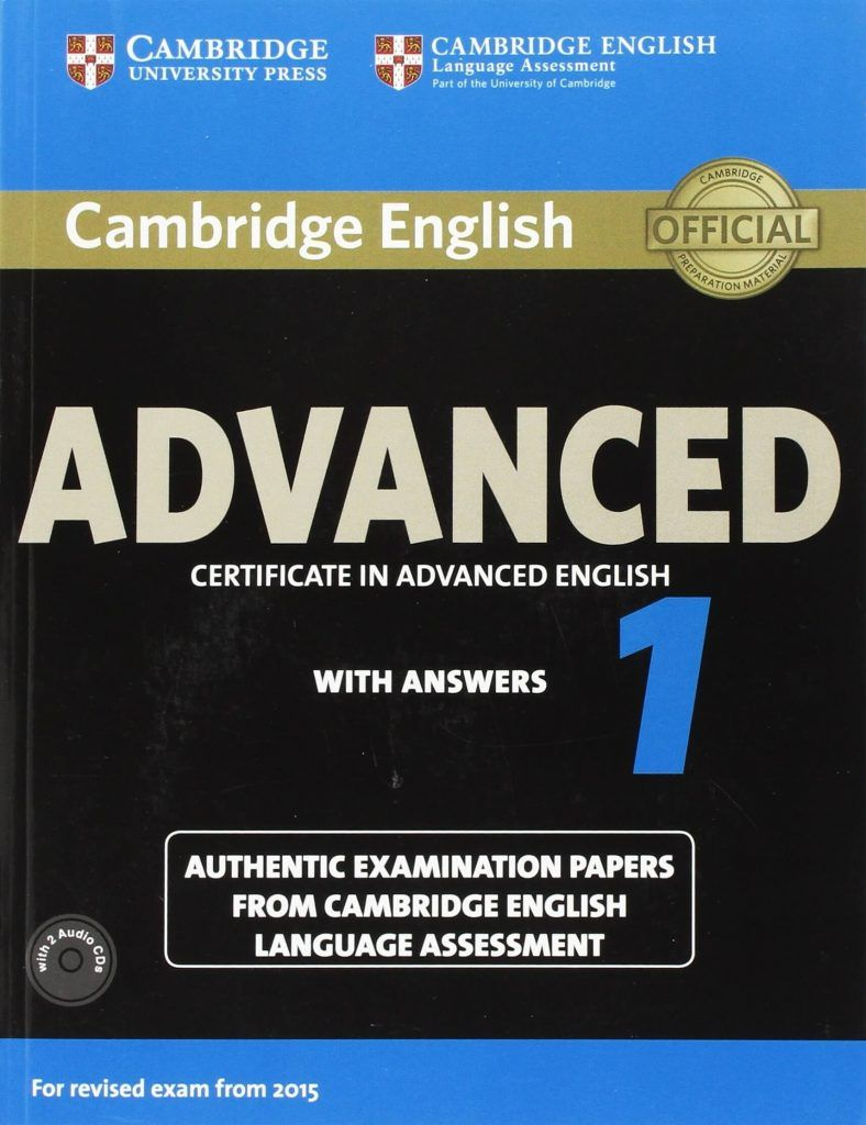 Advanced: Certificate in Advanced English