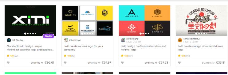 Tus proyectos en Fiverr