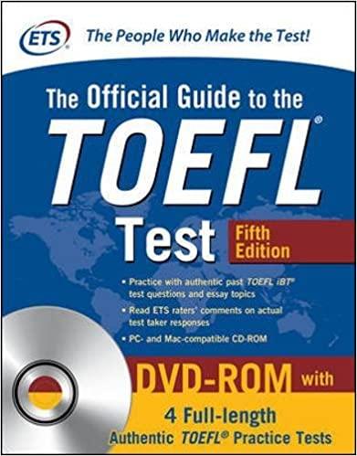 Official TOEFL iBT Tests cómo preparar el TOEFL