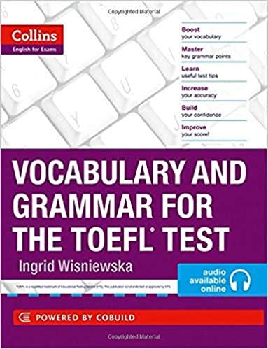 Vocabulary and Grammar for the TOEFL Test - cómo preparar el TOEFL