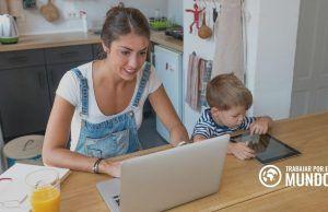 trabajar desde casa con niños