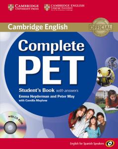 Cambridge English Complete PET Students Book