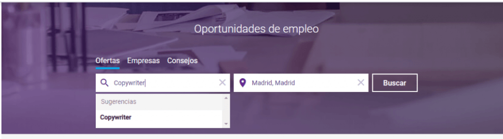 Buscador de Empleo Monster
