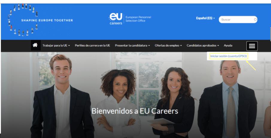 EPSO ofertas de trabajo en el extranjero
