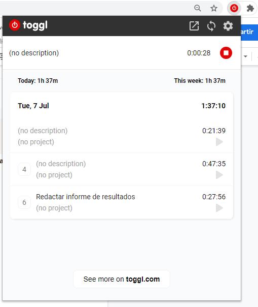 Instalar Toggl en Chrome 3