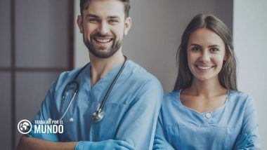 Mejores destinos para buscar trabajo como médico o enfermero