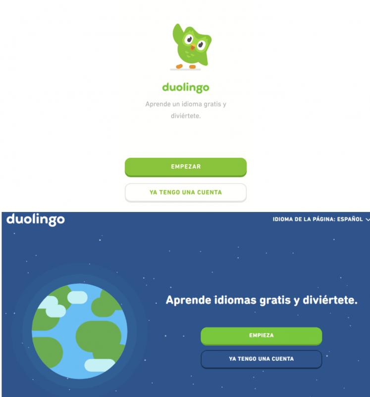Cómo registrarse en Duolingo