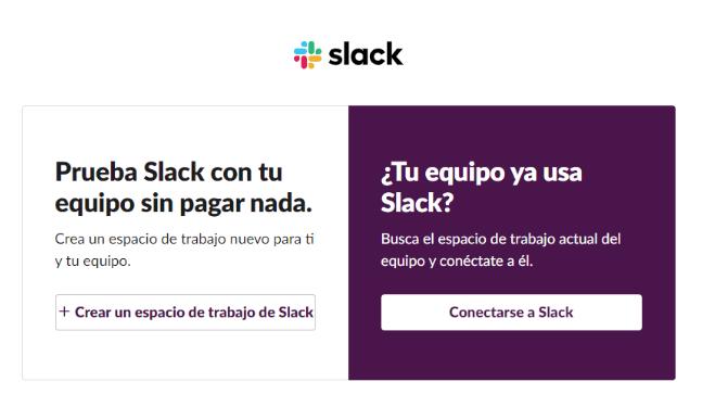Cómo conectarse a Slack