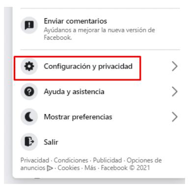 Eliminar tu cuenta de Facebook paso a paso