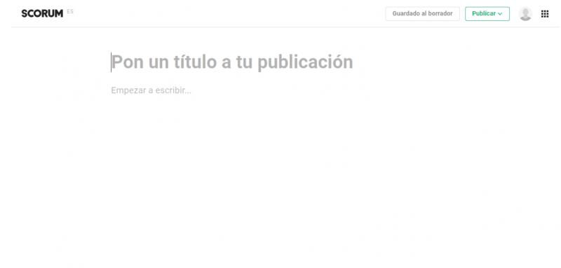 Scorum publicar